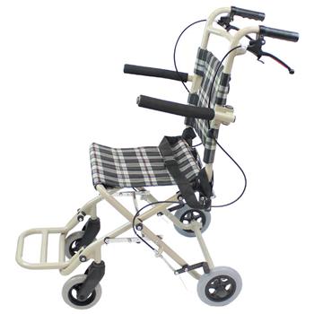 介助式車椅子 トラベルミニ( 旧ファン) CA-40 側面