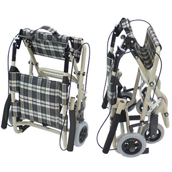 介助式車椅子 トラベルミニ( 旧ファン) CA-40 折畳