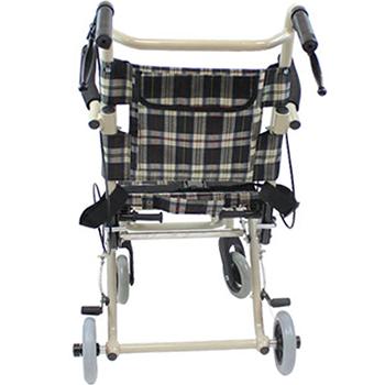 介助式車椅子 トラベルミニ( 旧ファン) CA-40 裏面