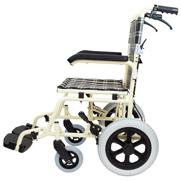 介助式車椅子 トラベル CA-41 側面