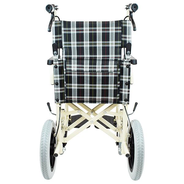 介助式車椅子 トラベル CA-41 裏面