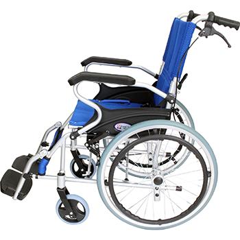 自走式車椅子 スマイル CA-70SU 折畳側面