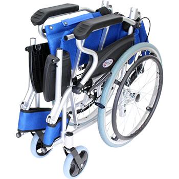自走式車椅子 スマイル CA-70SU 折畳