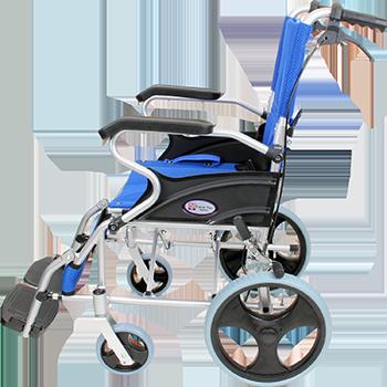 介助式車椅子 スマイル CA-80SU 側面