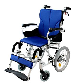 介助式アルミ製車椅子 コンフォート CAH-20SU
