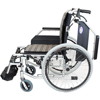 自走式車椅子 コンフォートプレミアム CAH-52SU 側面肘跳ね上げ