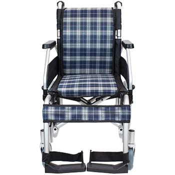 介助式車椅子 コンフォートプレミアム CAH-62SU 真正面