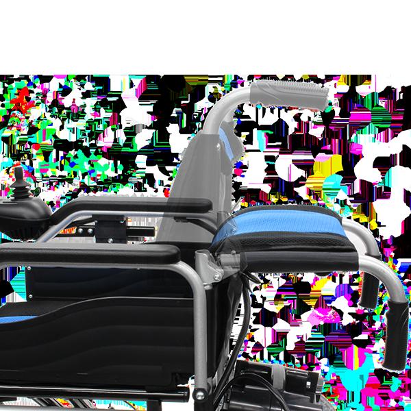 電動車椅子 ハピネスムーブS CE21-HSU-12 側面