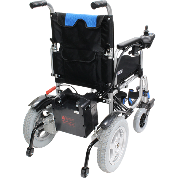 電動車椅子 ハピネスムーブS CE21-HSU-12 裏面