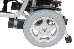 ハピネスムーブの後輪エアタイヤ