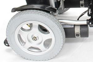 ハピネスムーブSの後輪エアタイヤ