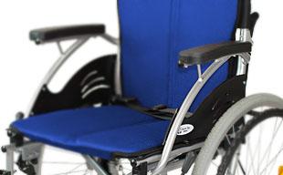 自走式車椅子ハピネス CA-10SU 軽量アルミフレーム