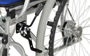 自走式車椅子ハピネス CA-10SU 駐車ブレーキ