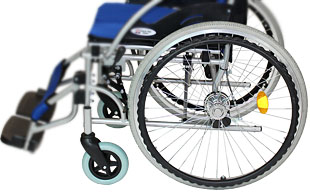 自走式車椅子ハピネス CA-10SU ノーパンクタイヤ