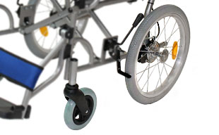 介助式車椅子ハピネス CA-21SU ノーパンクタイヤ