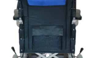 介助式車椅子ハピネス CA-21SU 背面ポケット