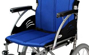 介助式車椅子ハピネスワイド CA-25SU 軽量アルミフレーム