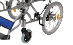 介助式車椅子ハピネスワイド CA-25SU ノーパンクタイヤ