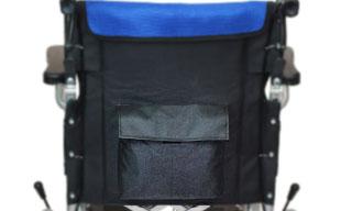 介助式車椅子ハピネスワイド CA-25SU 背面ポケット