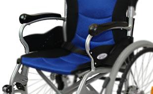 自走式車椅子ハピネスプレミアム CA-32SU 軽量アルミフレーム