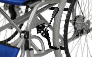 自走式車椅子ハピネスプレミアム CA-32SU 駐車ブレーキ