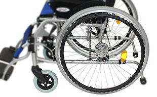 自走式車椅子ハピネスプレミアム CA-32SU ノーパンクタイヤ