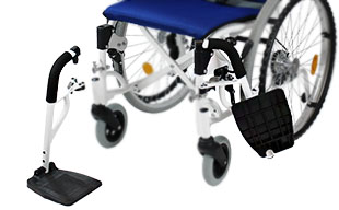 自走式車椅子コンフォート CAH-50SU 脚部スイングアウト機能