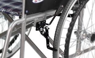 自走式車椅子ウィッシュ CS-10 駐車ブレーキ