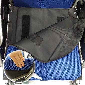 車椅子の座面用シート