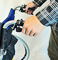 介助ブレーキの使い方