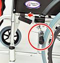 介助ブレーキの連動機能